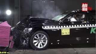 Kollisionsschutzsystem von BMW - DEKRA Crashtest