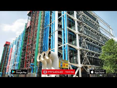 Beaubourg – Building – Paris – Audio Guide – MyWoWo  Travel App