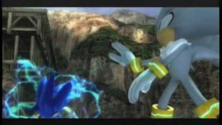 SONIC THE HEDGEHOG (2006) Playthrough Part 36-Shadow vs. Silver Act 2