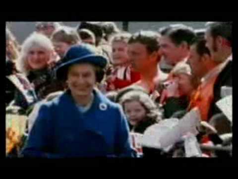 Queen Elizabeth's silver Jubilee celebrations (1977)