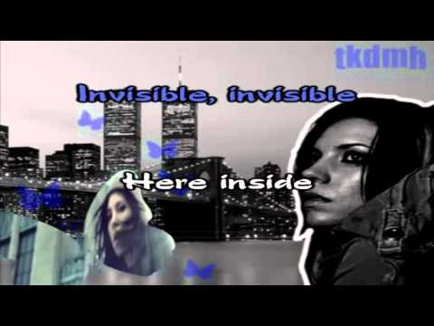 Skylar Grey - Invisible Karaoke/Instrumental