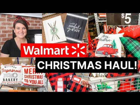 Walmart Christmas Decor Haul 2019!