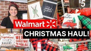 Walmart Christmas Decor Haul 2019!