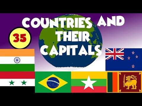Name of Countries and Capitals of the world |# COUNTRY FLAGS OF THE WORLD FOR STUDENT