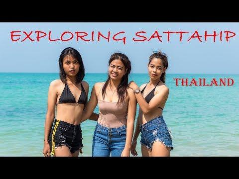 Sai Kaew Beach in Sattahip, Thailand-with the Thai Girls