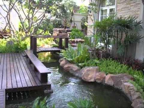 จัดสวนในร่ม ฮวงจ้ยหน้าบ้าน