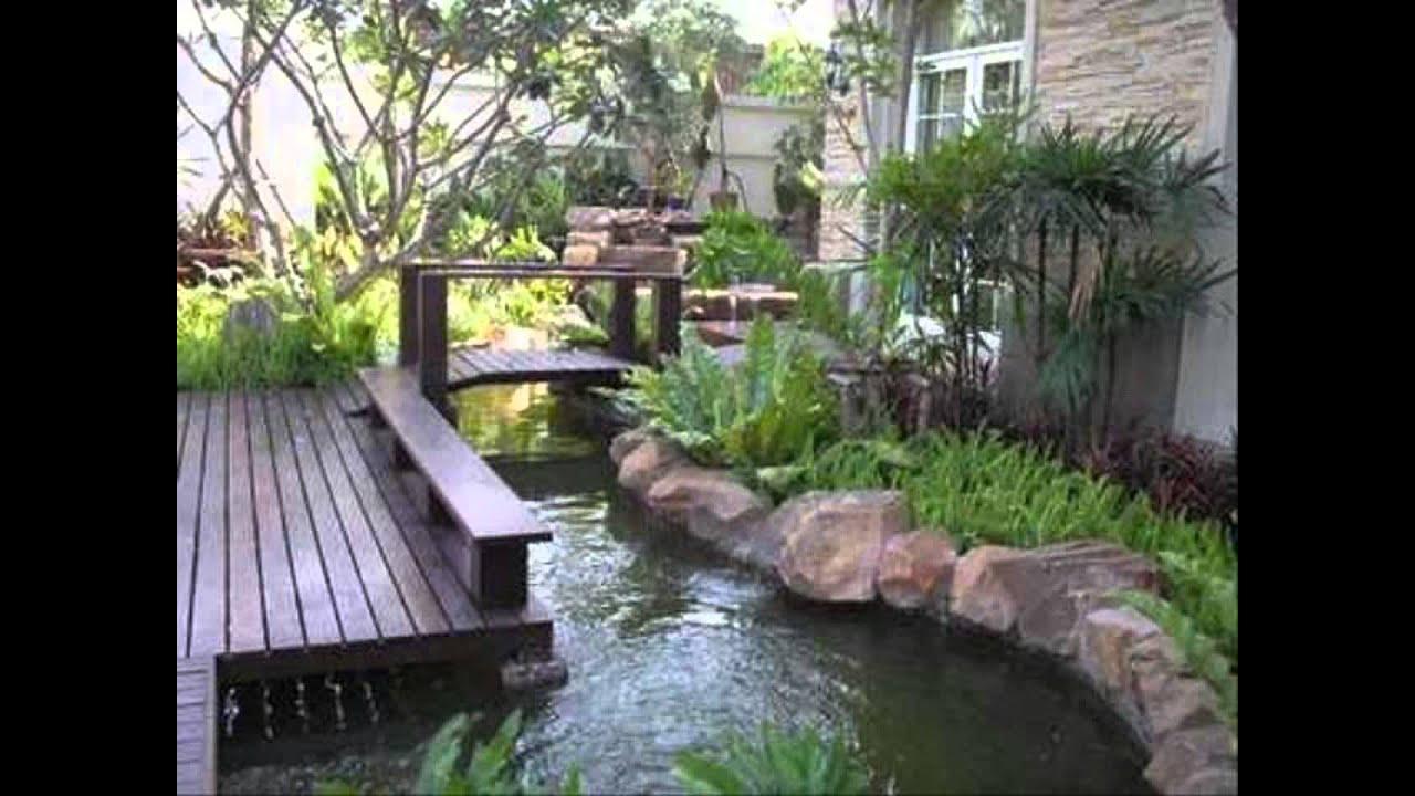Zen Garden Pond Ideas