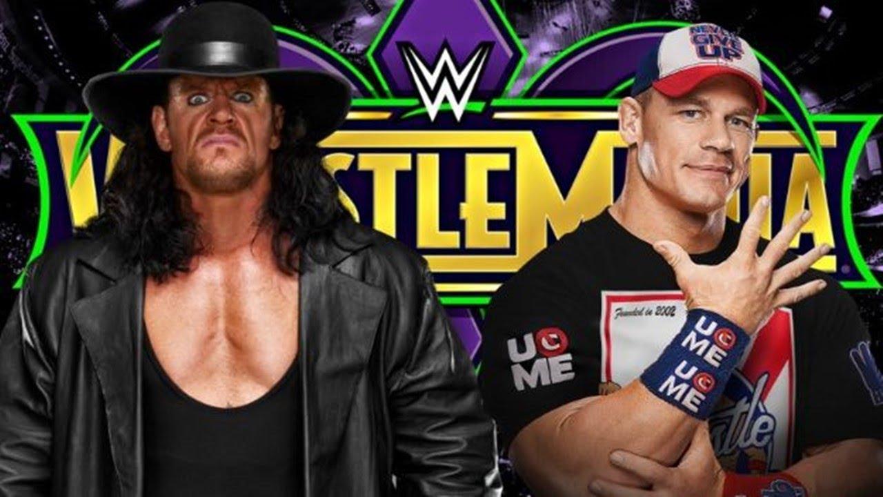 Download WWE The Undertaker Vs John Cena Wrestlemania 34