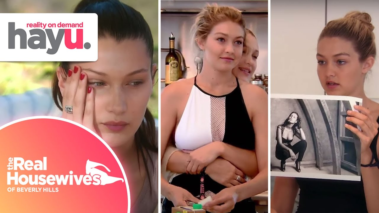 Download Gigi, Bella & Anwar Hadid When They Were Young | Real Housewives of Beverly Hills
