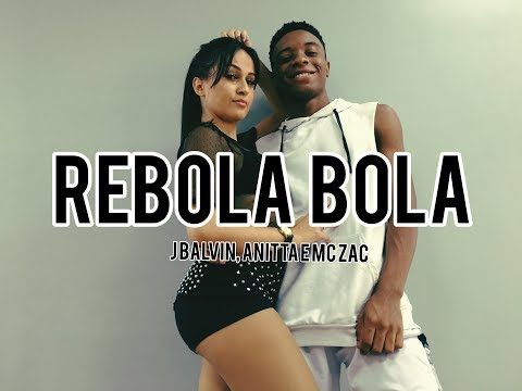 BOLA REBOLA - TROPIKILLAZ ANITTA J BALVIN E MC ZAAC  COREOGRAFIA VINIIJOYDANCE
