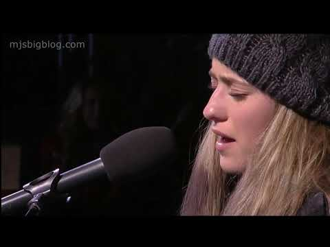 The Voice Brynn Cartelli sings Hallelujah in Boston Faneuil Hall Christmas Tree Lighting