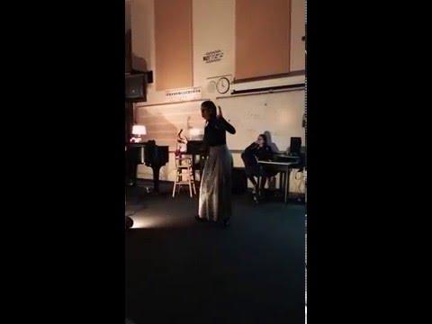 Amazing High School Opera Singer!!!
