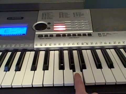 How to play Bittersweet Symphony By The Verve on Piano