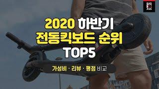 2020 전동킥보드 추…