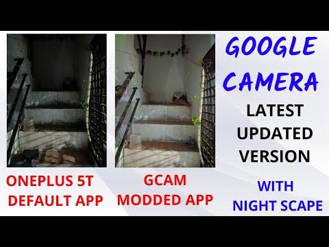 Google Camera GCam for OnePlus 5T (LATEST)