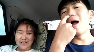What siblings do in the car-funny