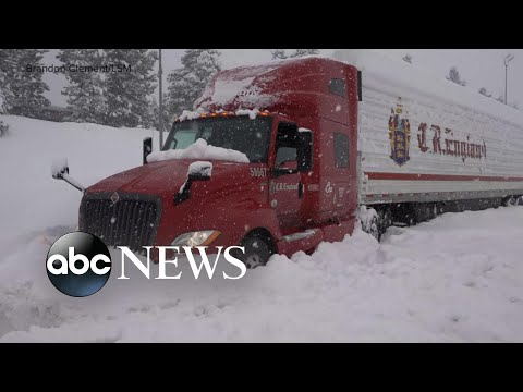 Major winter storm to bring snow to Midwest, Northeast