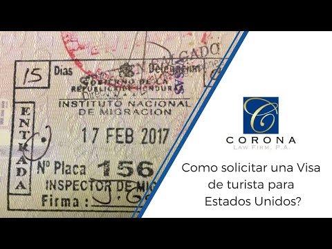 En corte TV - ¿Como Pedir una Visa de Turista desde Honduras?