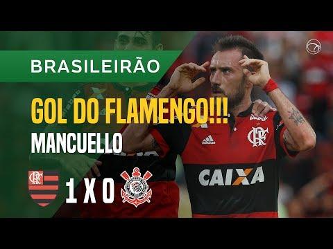 GOL (MANCUELLO) - FLAMENGO X CORINTHIANS - 19/11 - BRASILEIRÃO 2017