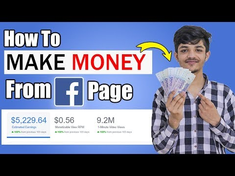 How To Earn Money From Facebook In 2020 & Facebook Page Monetization    Step By Step Full Guide