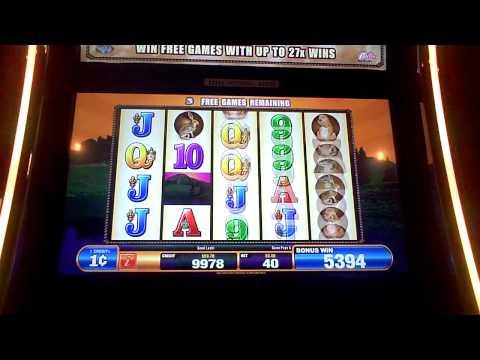 Mustang slot machine bonus