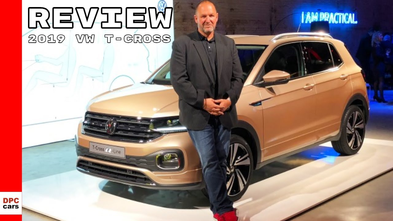 2019 vw t cross review youtube. Black Bedroom Furniture Sets. Home Design Ideas