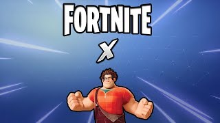 Fortnite X Wreck-It Ralph PROMOTION! Nouveaux skins possibles? (Fortnite Collab)