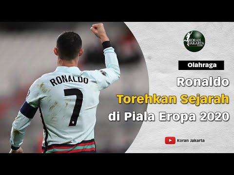Ronaldo Torehkan Sejarah di Piala Eropa 2020