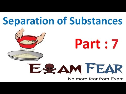 Chemistry Separation of Substances Part 7 (Sedimentation and Decantation) Class 6 VI