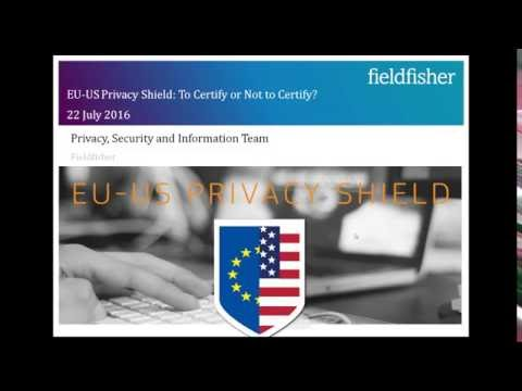The EU US Privacy Shield: To certify or not to certify? That is the question.
