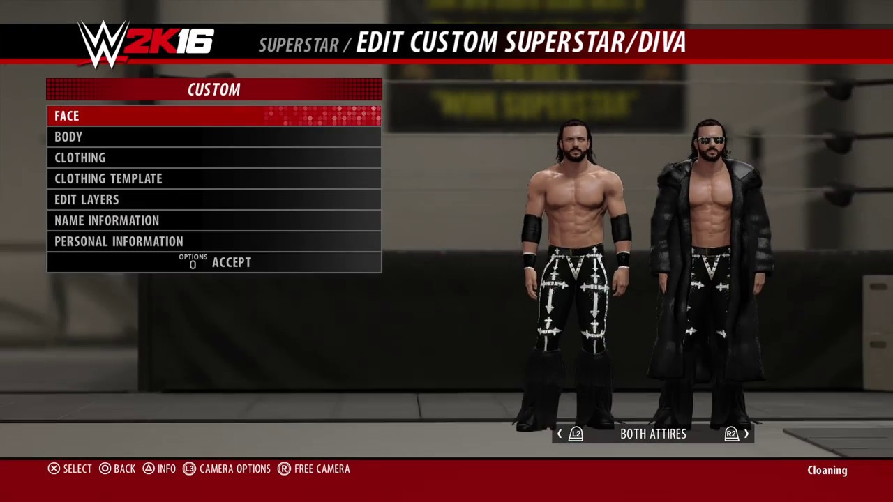 how to make a wrestler in wwe 2k16