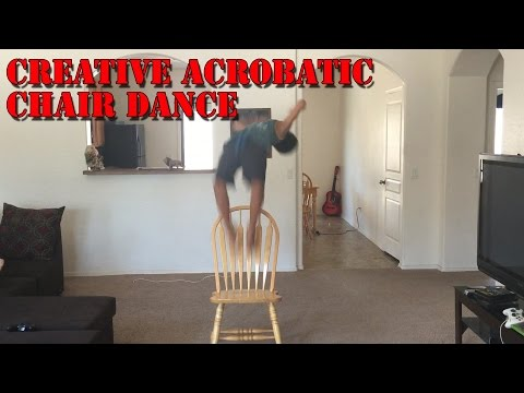 Creative Acrobatic Chair Dance Must See