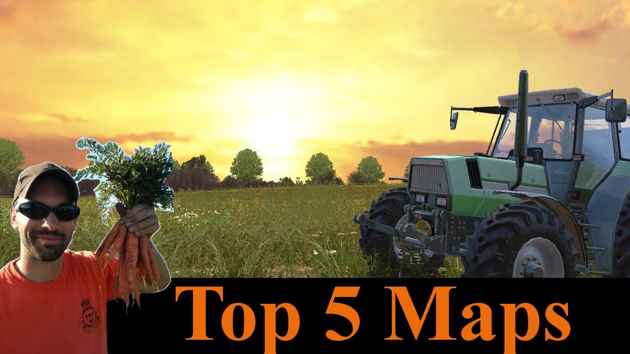 Farming Simulator 2015 Top 5 maps