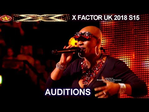 """Janice Robinson 50 year old sings  a WOW Original song """"Dreamer"""" AUDITIONS week 1 X Factor UK 2018"""