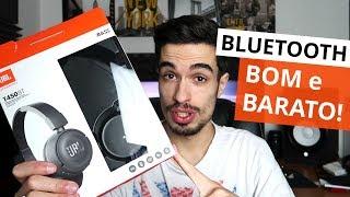 JBL T450BT Review: Áudio Bluetooth BOM e BARATO!