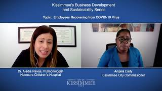 Kissimmee's Business Development Series- Employees Recovering from COVID-19