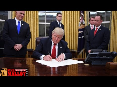 All Of Trump's Executive Actions - Part 1