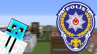 Minecraft Şehir Yapıyorum Bölüm 13 - Polis Binası