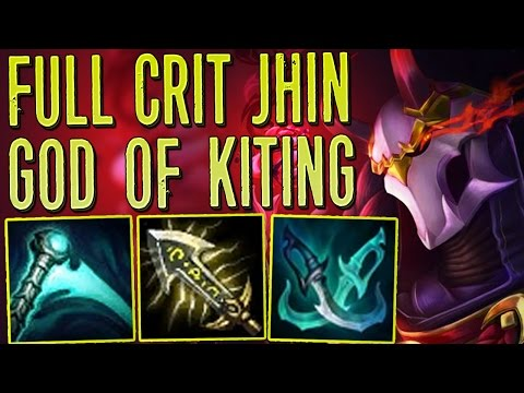GOD OF KITING  CRIT JHIN IS BACK   MONTAGE