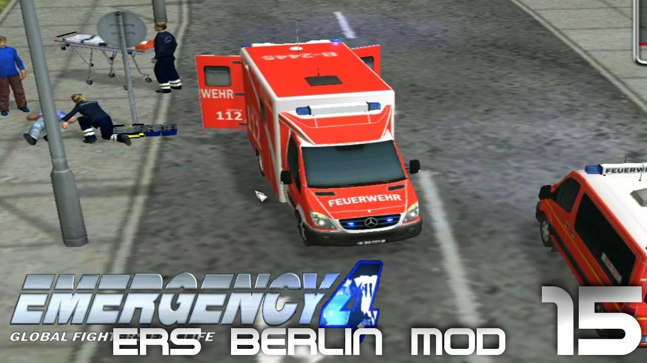 Emergency 4|episode 15| ers berlin mod youtube.