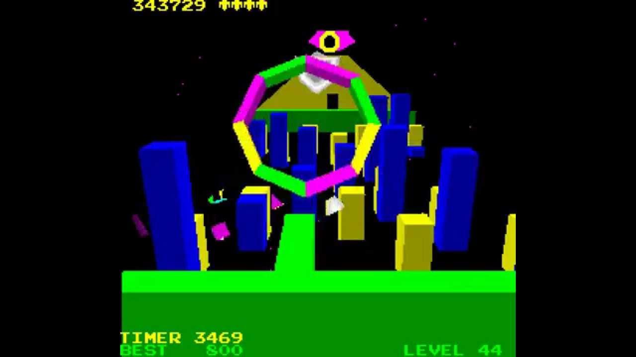 Arcade Game: I, Robot (1983 Atari) (2/5) - YouTube
