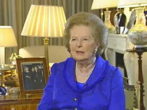 Baroness Thatcher Tribute to HM The Queen