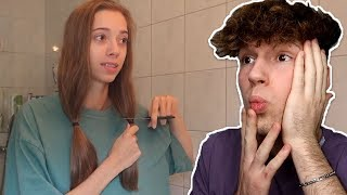 Das passierte nachdem sie ihre Haare abgeschnitten hat! 😳I Ceddotalk