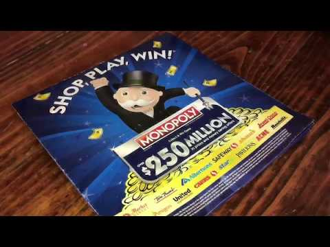 Winning Monopoly - Jewel Osco Style