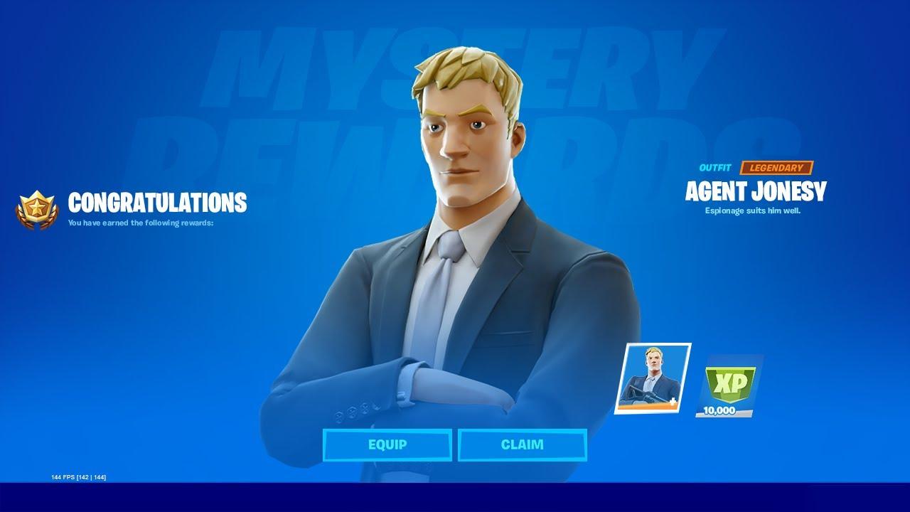 Jonesy Suit Fortnite Unlocking Agent Jonesy In Fortnite Youtube