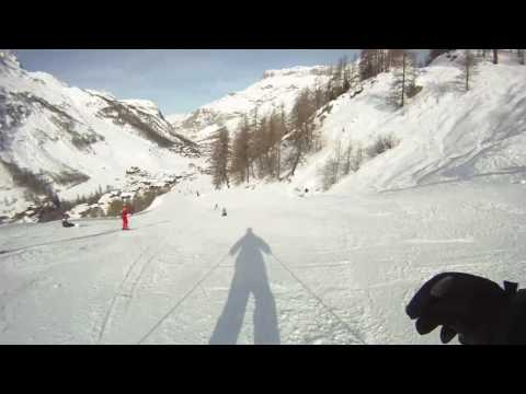 Tignes 2010 fast lane.mp4