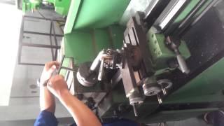 FT Bagian dan Proses pengoperasian mesin bubut konvensional
