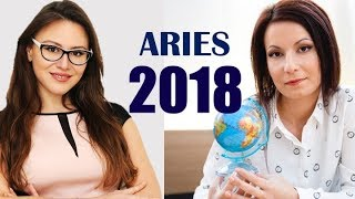 ARIES 2018 Horoscope. A HUGE SHIFT in Your SOCIAL STATUS through CAREER or MARRIAGE! Reaching a PEAK