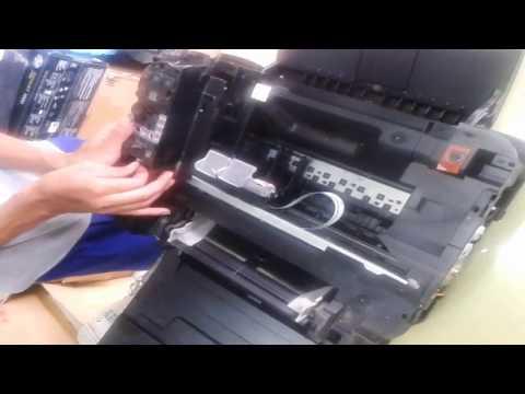 ล้างเครื่อง ล้่างชุดปั้ม ชุดFEED แคนนอน MP287
