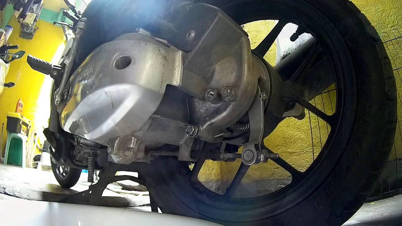 Honda Click V1 V2 Gear oil change - YouTube